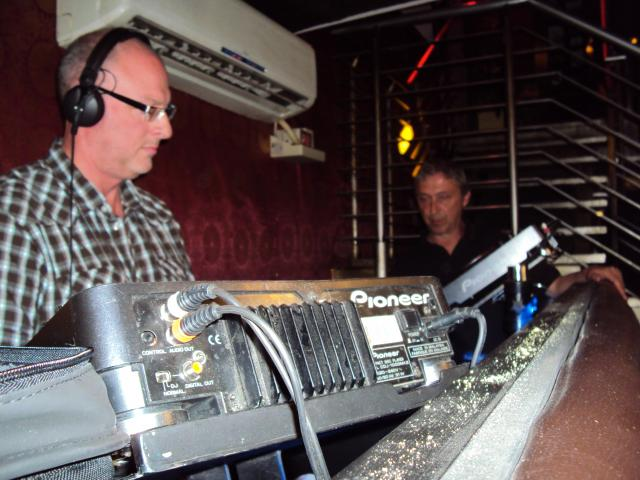 East Village 1: Dave and John at the controls